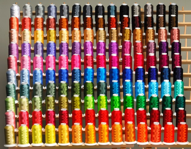 Thread colors. Made Japan