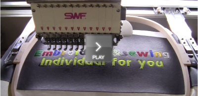 Embroidering video